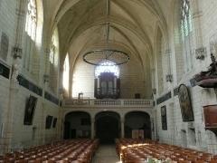 Eglise paroissiale (ancienne chapelle du château) - Français:   Église Notre-Dame de Montreuil-Bellay - intérieur (Maine-et-Loire, Pays de la Loire).