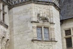 Château - English:   Chateau de Montsoreau (detail)