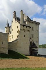 Château - Nederlands:   Montsoreau (departement Maine-et-Loire, Frankrijk): het kasteel