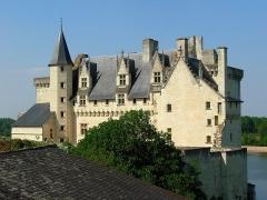 Château - Français:   Face sud du château de Montsoreau (Maine-et-Loire, France).