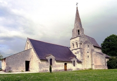 Eglise - English: Parnay church (Maine-et-Loire, France)