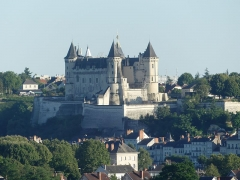 Château de Saumur - This building is indexed in the Base Mérimée, a database of architectural heritage maintained by the French Ministry of Culture, under the reference PA00109307 .