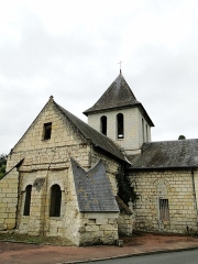 Eglise de Saint-Hilaire - This building is indexed in the Base Mérimée, a database of architectural heritage maintained by the French Ministry of Culture,under the reference PA00109319 .