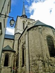 Eglise Saint-Pierre -  Chevet de l'église Saint-Pierre-du-Marais de Saumur (49).