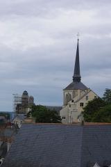 Eglise Saint-Pierre -  Église Saint-Pierre-du-Marais de Saumur vue de la tour Grénetière