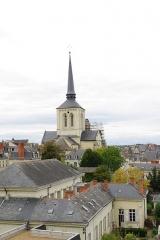 Eglise Saint-Pierre -  Église Saint-Pierre-du-Maris de Saumur vue de la tour Papegault.