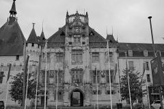 Hôtel de ville - Français:   Nommé «Maison Commune», «Maison de Ville» puis Mairie et/ou Hôtel de Ville, ces bâtiments du XVIème XIXème et XXème siècles accueillent  l'administration municipale depuis le début du XVIème siècle.