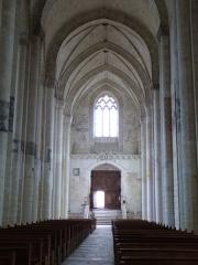 Eglise Notre-Dame de Cunault - Français:   Église Notre-Dame (Classé)