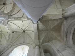 Eglise Notre-Dame de Cunault -  Intérieur de l'église Notre-Dame de Cunault à Chênehutte-Trèves-Cunault (49).