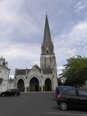 Eglise - Français:   Église Notre-Dame de Vernantes (49).