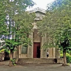 Temple de l'Eglise Réformée - Français:   Reconstruction au 19è siècle