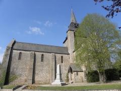 Eglise - Français:   Église Notre-Dame d\'Ambrières-les-Vallées (53).