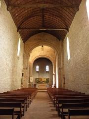Eglise - Français:   Nef de l\'église Notre-Dame d\'Ambrières-les-Vallées (53).