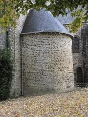 Eglise - Français:   Absidiole sud de l\'église Notre-Dame d\'Ambrières-les-Vallées (53).