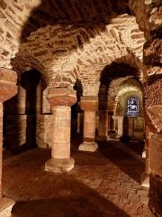 Eglise Saint-Jean-Baptiste - Français:   Crypte de l\'église Saint-Jean-Baptiste de Château-Gontier (53).
