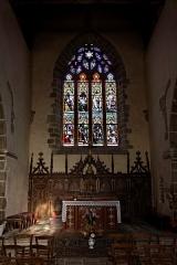 Chapelle de Charné -  Chœur de la chapelle de Notre-Dame de Charne..