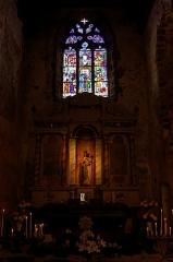 Chapelle de Charné -  Transept nord de la chapelle de Notre-Dame de Charne..