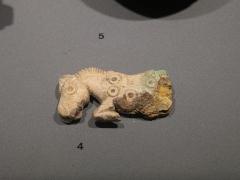 Camp romain (restes) - manche de couteau en os