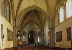 Cathédrale de la Trinité -  Nef de la cathédrale de la Sainte-Trinité à Laval (53).