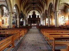 Eglise Notre-Dame des Cordeliers - Français:   Église Notre-Dame-des-Cordeliers de Laval (53). Vue intérieure.