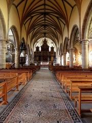 Eglise Notre-Dame des Cordeliers - Français:   Église Notre-Dame-des-Cordeliers de Laval (53). Vaisseau principal.