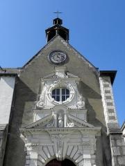 Eglise Notre-Dame des Cordeliers - Français:   Église Notre-Dame-des-Cordeliers de Laval (53). Entrée principale.