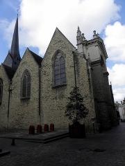 Eglise Saint-Vénérand - Français:   Église Saint-Vénérand de Laval (53).