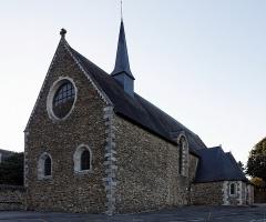 Chapelle des Calvairiennes -  La chapelle des Calvairiennes à Mayenne.