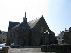 Eglise Saint-Martin -  L'église Saint-Martin de Mayenne