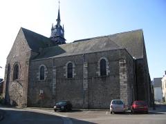 Eglise Saint-Martin - English: The church Saint-Martin of Mayenne, Mayenne, France.