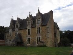 Château de Mortier-Crolles - Français:   Logis du Château de Mortiercrolles