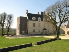 Château - This building is indexed in the Base Mérimée, a database of architectural heritage maintained by the French Ministry of Culture,under the reference PA00109610 .