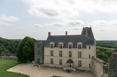 Château - Logis du château de Sainte-Suzanne.