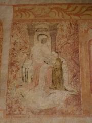 Eglise Saint-Pierre - Français:   Église Saint-Pierre de Saulges (53). Peintures murales.