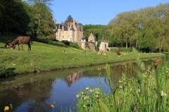 Château de Courtanvaux - Français:   Le château de Courtanvaux à Bessé-sur-Braye