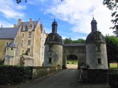 Château de Courtanvaux - Français:   Château de Courtanvaux, Bessé-sur-Braye, Sarthe, France