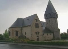 Eglise -  Eglise Saint Nicolas de Coulaines Sarthe