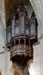 Eglise Notre-Dame-des-Marais - Français:   Orgue de l'église Notre-Dame-des-Marais de La Ferté-Bernard (Sarthe, Pays de la Loire, France).