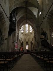 Eglise Notre-Dame-des-Marais - Intérieur de l'église Notre-Dame-des-Marais de La Ferté-Bernard (72).