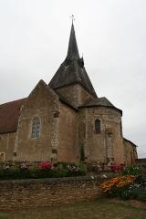 Eglise - Français:   L\'église Saint-Martin de Lombron.