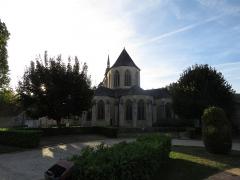 Eglise Notre-Dame -  Chevet de l'église Notre-Dame de Mamers (72).