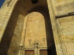 Eglise Notre-Dame -  Portail occidental de l'église Notre-Dame de Mamers (72).