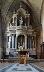 Abbaye de la Couture - Église Notre-Dame de la Couture - Le Mans, Sarthe
