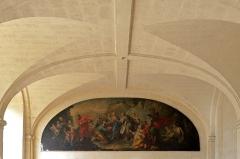 Anicenne abbaye Saint-Vincent, actuellement lycée Bellevue - Salle des devoirs de l'Abbaye Saint-Vincent, actuel lycée Bellevue - Le Mans, Sarthe