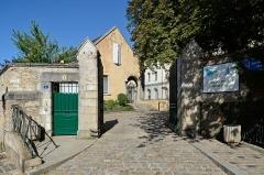 Anicenne abbaye Saint-Vincent, actuellement lycée Bellevue - Français:   Abbaye Saint-Vincent, actuel lycée Bellevue - Le Mans, Sarthe