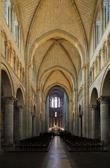 Cathédrale Saint-Julien - Nederlands:  Le Mans (Frankrijk): interieur van de Saint-Julienkathedraal