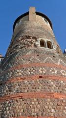 Enceinte gallo-romaine (restes) - Vestiges de l'enceinte romaine - tour Madeleine - Le Mans, Sarthe