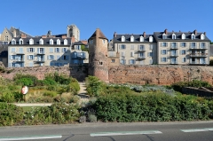 Enceinte gallo-romaine (restes) - Vestiges de l'enceinte romaine - Le Mans, Sarthe
