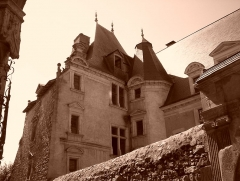Hôtel de Vaux - Français:   L\'hôtel Denisot où naquit le fameux poète de la Pléiade, au Mans.