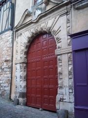 Immeuble - Français:   porte au 105 grande  rue,  Cité Plantagenêt, Le Mans